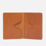 Обложка для паспорта Filson Passport & Card Case Tan Leather фото- 1