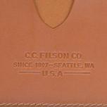 Обложка для паспорта Filson Passport & Card Case Tan Leather фото- 2