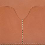 Обложка для паспорта Filson Passport & Card Case Tan Leather фото- 3