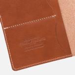 Обложка для паспорта Fjallraven Leather Passport Leather Cognac фото- 2