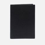 Обложка для паспорта Hackett Pebble Holder Black фото- 0