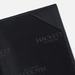 Обложка для паспорта Hackett Pebble Holder Black фото- 3
