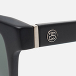 Солнцезащитные очки Stussy Louie Matte Black/Black фото- 2