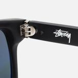 Солнцезащитные очки Stussy Louie Matte Black/Black фото- 3