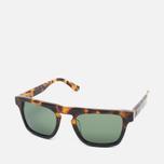 Солнцезащитные очки Stussy Louie Tortoise Fade/Green фото- 1