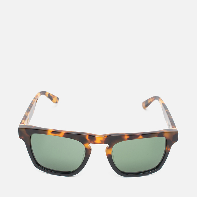 Солнцезащитные очки Stussy Louie Tortoise Fade/Green