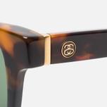 Солнцезащитные очки Stussy Louie Tortoise Fade/Green фото- 2
