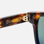 Солнцезащитные очки Stussy Louie Tortoise Fade/Green фото- 4