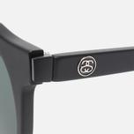Солнцезащитные очки Stussy Luca Matte Black/Black фото- 2