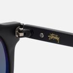 Солнцезащитные очки Stussy Luca Matte Black/Black фото- 3