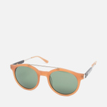 Stussy Luca Matte Sunglasses Honey/Green photo- 1