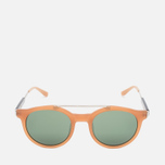 Stussy Luca Matte Sunglasses Honey/Green photo- 0