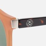 Stussy Luca Matte Sunglasses Honey/Green photo- 2