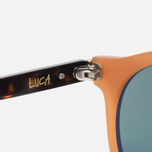 Stussy Luca Matte Sunglasses Honey/Green photo- 4