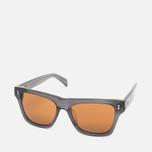 Stussy Norton Sunglasses Dark Grey/Brown photo- 1