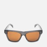 Солнцезащитные очки Stussy Norton Dark Grey/Brown фото- 0