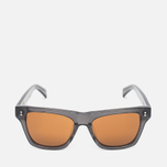 Stussy Norton Sunglasses Dark Grey/Brown photo- 0