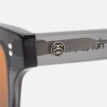 Солнцезащитные очки Stussy Norton Dark Grey/Brown фото- 2