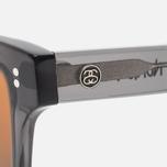 Stussy Norton Sunglasses Dark Grey/Brown photo- 2