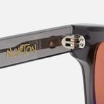 Stussy Norton Sunglasses Dark Grey/Brown photo- 4