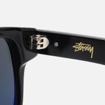 Солнцезащитные очки Stussy Santana Black/Dark Grey фото- 3