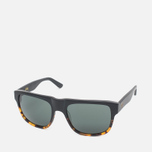 Stussy Santana Matte Sunglasses Black/Tortoise Fade photo- 1