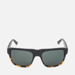 Stussy Santana Matte Sunglasses Black/Tortoise Fade photo- 0