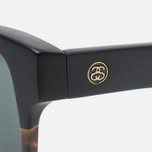 Stussy Santana Matte Sunglasses Black/Tortoise Fade photo- 2