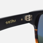Stussy Santana Matte Sunglasses Black/Tortoise Fade photo- 4