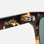 Солнцезащитные очки Stussy Norton Tortoise Hua/Green фото- 4