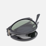 Persol Crystal Icons Sunglasses Black/Grey photo- 2