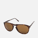 Persol Crystal Icons Sunglasses Havana/Brown photo- 1