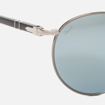 Солнцезащитные очки Persol Metal Suprema Gunmetal/Light Green Mirror Silver фото- 3