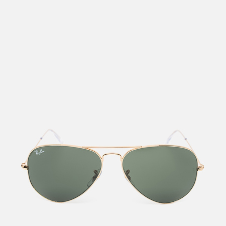 Ray-Ban Aviator Sunglasses Green Classic/Gold