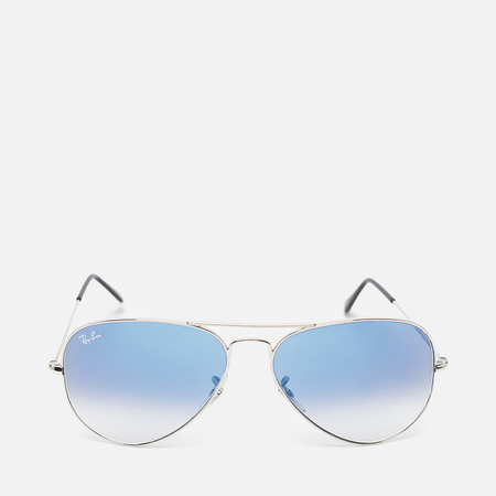 Солнцезащитные очки Ray-Ban Aviator Light Blue Gradient/Silver