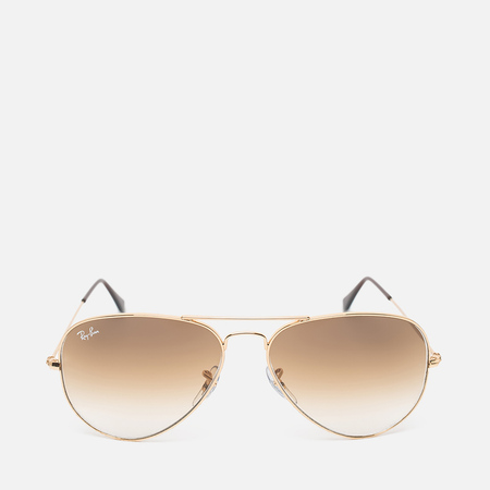 Солнцезащитные очки Ray-Ban Aviator Light Brown Gradient/Gold
