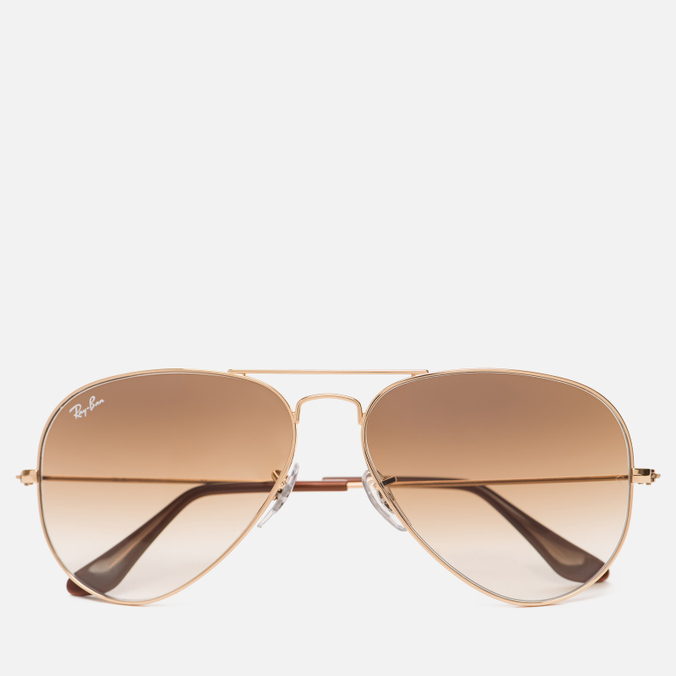 Солнцезащитные очки Ray-Ban Aviator Light Brown Gradient/Gold