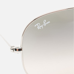 Солнцезащитные очки Ray-Ban Aviator Light Grey Gradient/Silver фото- 2