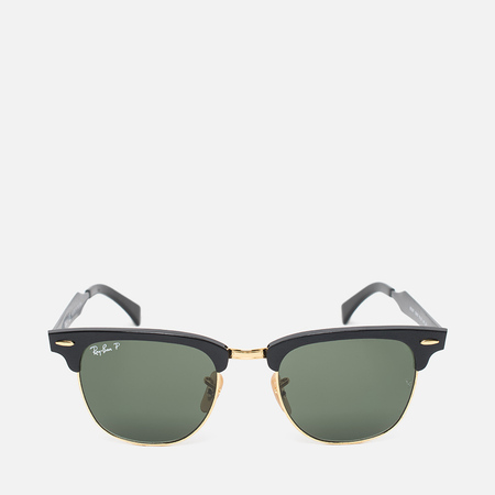 Солнцезащитные очки Ray-Ban Clubmaster Aluminum Polarized Green/Black