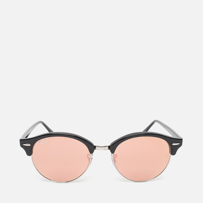 Солнцезащитные очки Ray-Ban Clubround Copper Flash Black/Silver