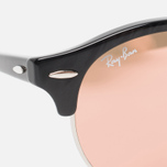 Солнцезащитные очки Ray-Ban Clubround Copper Flash Black/Silver фото- 2