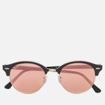 Солнцезащитные очки Ray-Ban Clubround Copper Flash Black/Silver фото- 0
