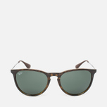 Ray-Ban Erika Green Classic Sunglasses Tortoise/Gunmetal photo- 0