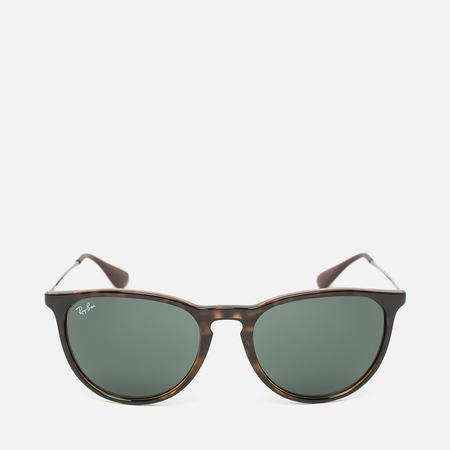 Солнцезащитные очки Ray-Ban Erika Green Classic Tortoise/Gunmetal