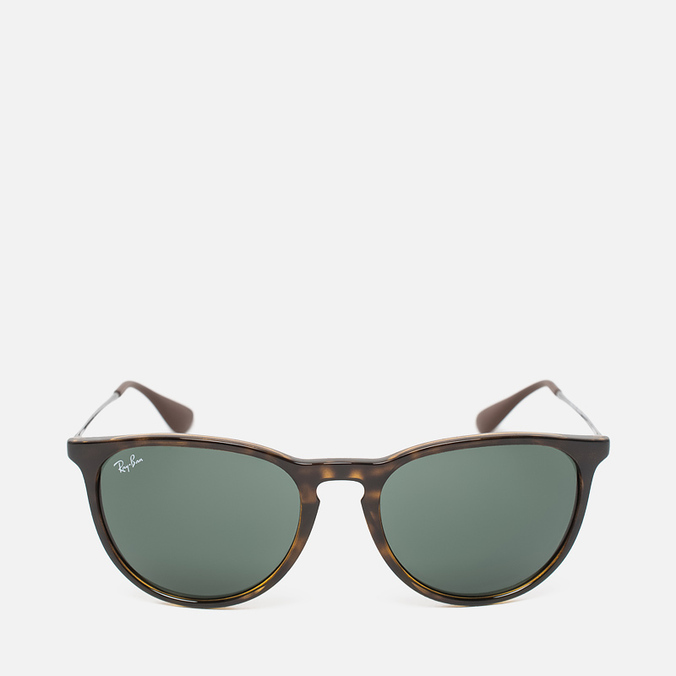 Ray-Ban Erika Green Classic Sunglasses Tortoise/Gunmetal