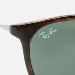 Ray-Ban Erika Green Classic Sunglasses Tortoise/Gunmetal photo- 2