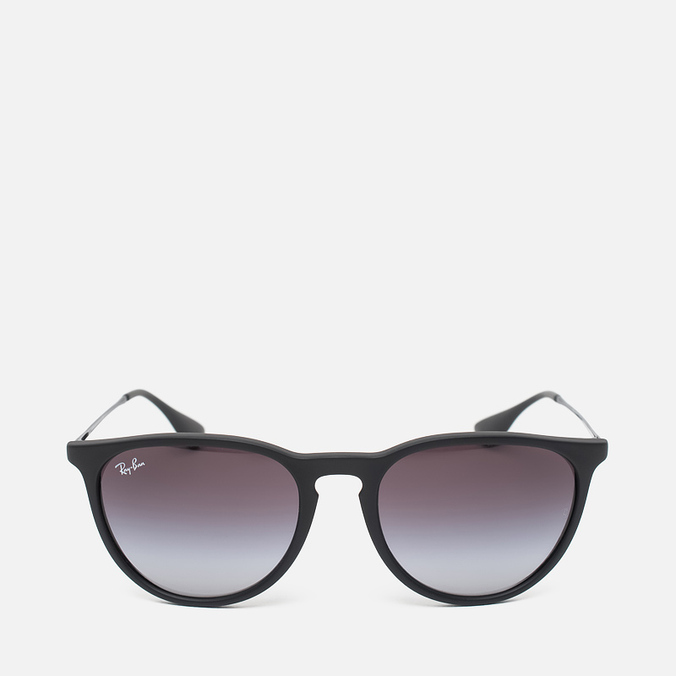 Ray-Ban Erika Grey Gradient Sunglasses Black