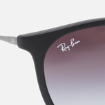 Ray-Ban Erika Grey Gradient Sunglasses Black photo- 2