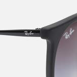 Ray-Ban Erika Grey Gradient Sunglasses Black photo- 3