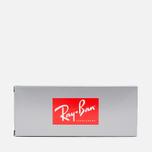 Ray-Ban Hexagonal Flat Lenses Sunglasses Gold/Silver Flash photo- 7